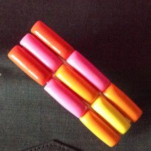 Accessories - Retro neon barrettes